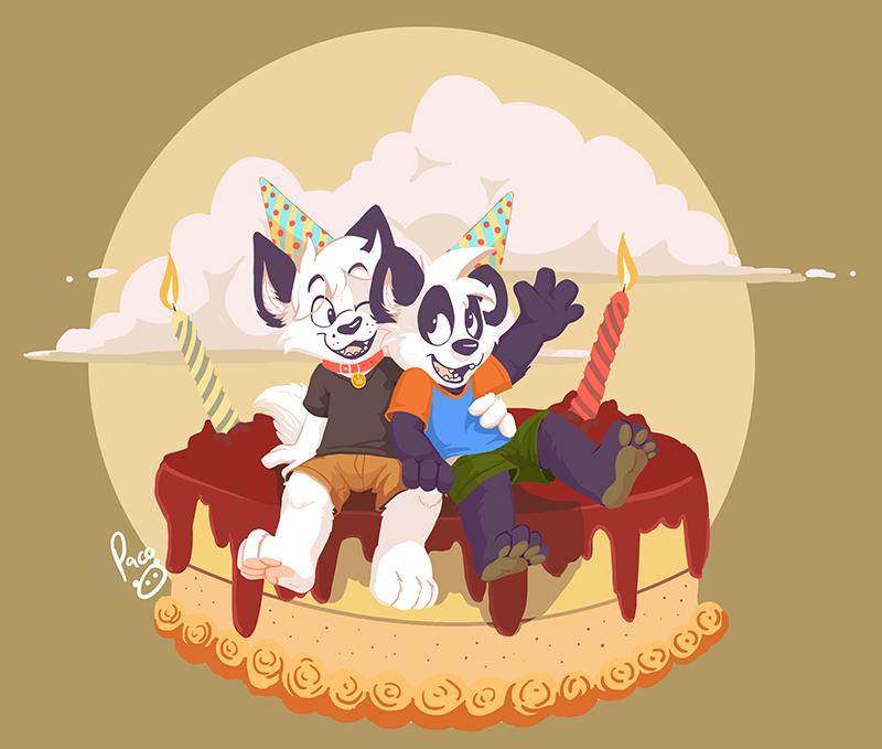 Arcc and Parinton's birthday