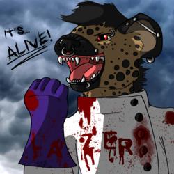 Trade: badge for lazer hyena