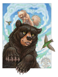 Wolfy and the Black Bear