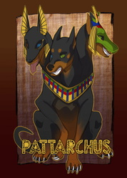 "Eurofurence 23 ""Ancient Egypt"" Badge"