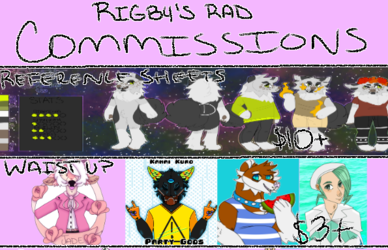 Commission Prices !OPEN!