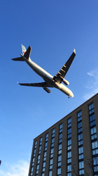 Plane plus Building equals Con Hotel!