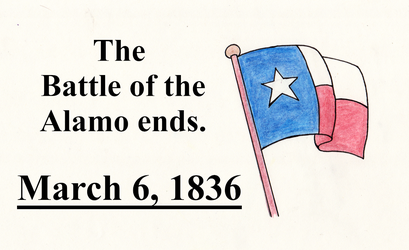 This Day in History: March 6, 1836