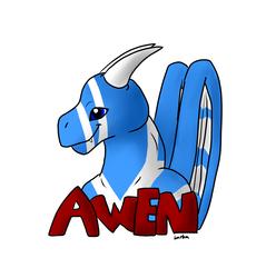Awen Badge