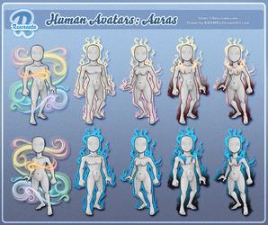 Rescreatu Avatars: Auras