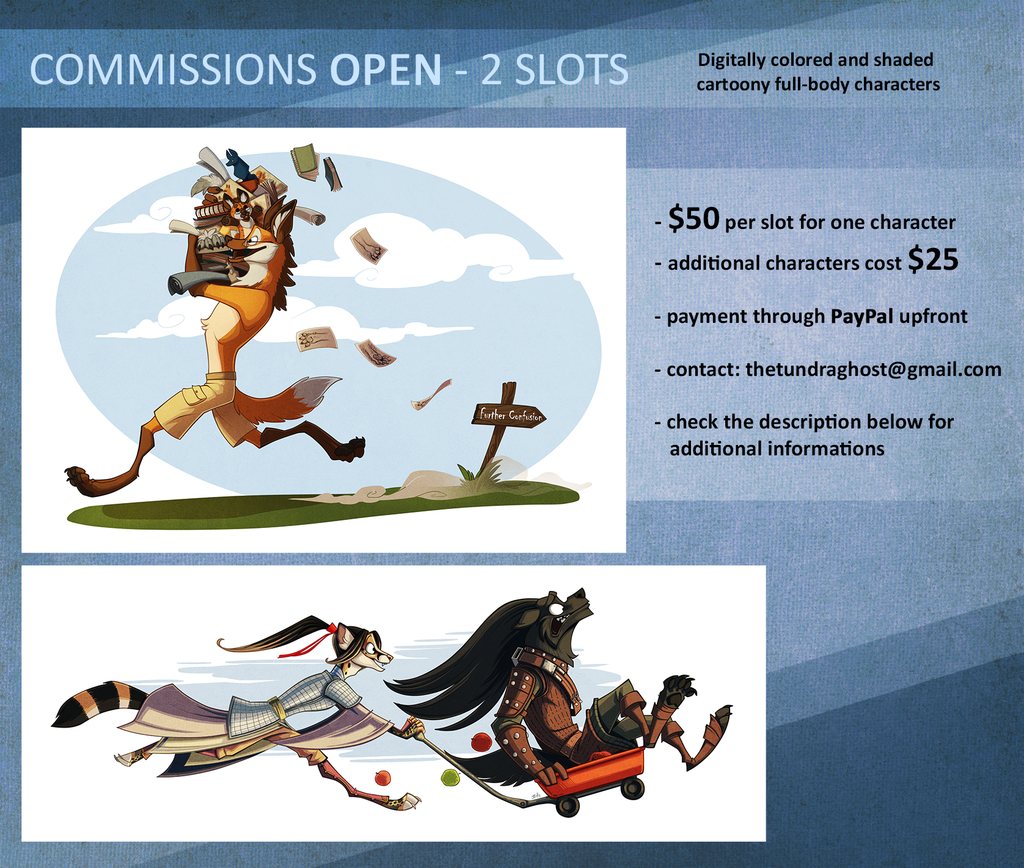 Most recent image: COMMISSIONS - CLOSED