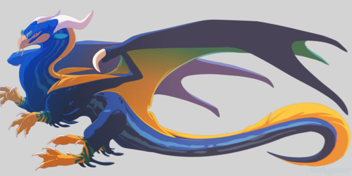 [Character Auction] Ribbon Eel Dragon [Closed]