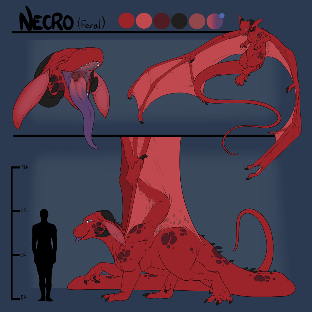 Most recent image: Feral Necro Character Sheet