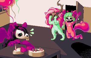 Mieko's Birthday Surprise