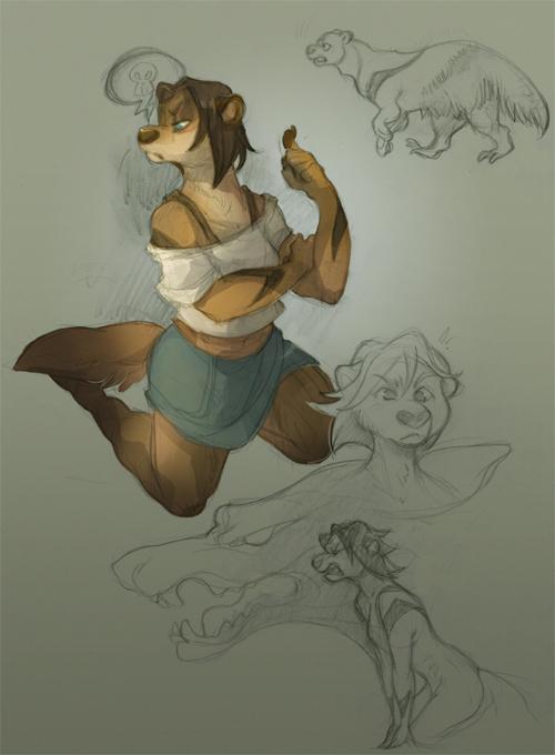 Sketch: Angry Moira