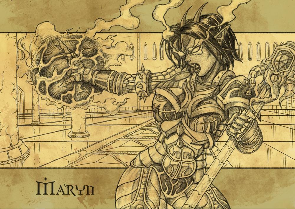 Maryn Fantasy Armor Commision