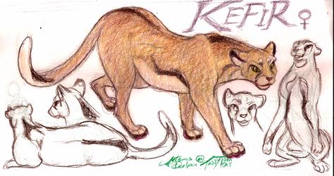 Kefir, mountain queen