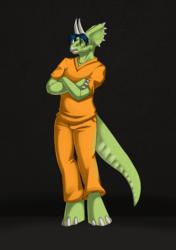 Lauren's Dinosaur Form