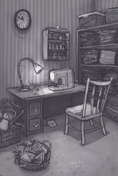 Martha Rosenthal's Sewing Room