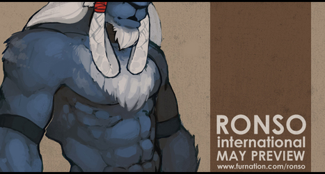 RONSO International - May 2013 Preview