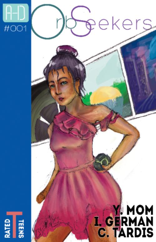 OrbSeekers Comic Cover