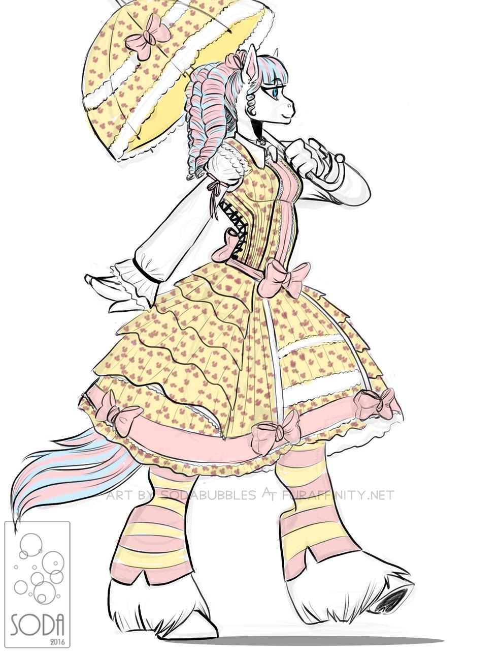 Clarabelle sketch