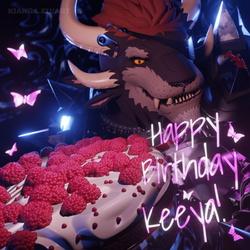 Illusionary Birthday Cake?