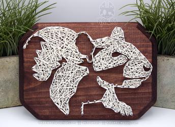 String art: Rat