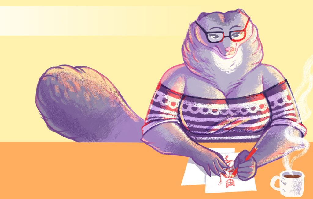 Drawing Mink