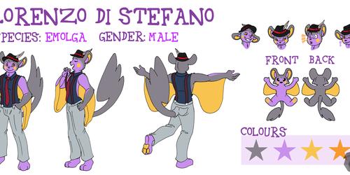 Lorenzo Di Stefano Reference Sheet