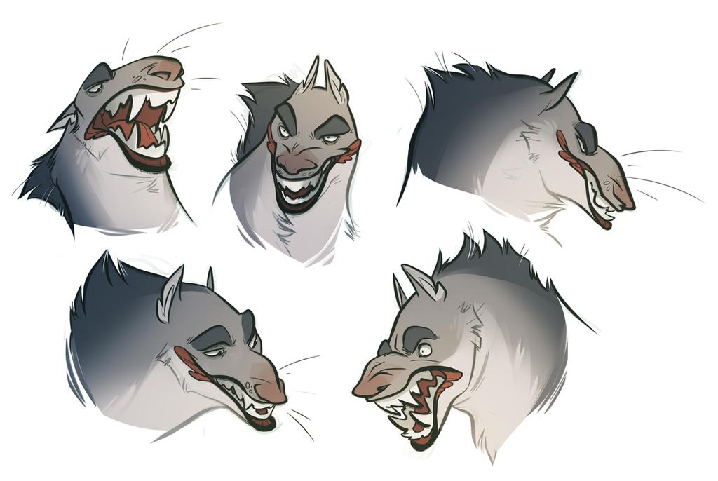 werewolf expressions