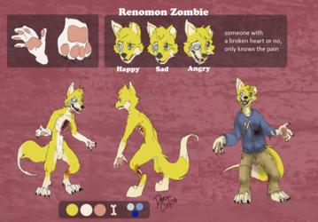 Renomon zombie reference