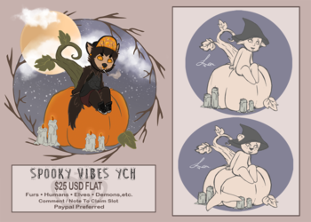 Spooky Vibes YCH