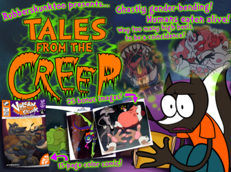 Tales from the Creep! Comic for Sale!