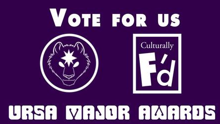 Vote for us for the 2015 Ursa Major Awards