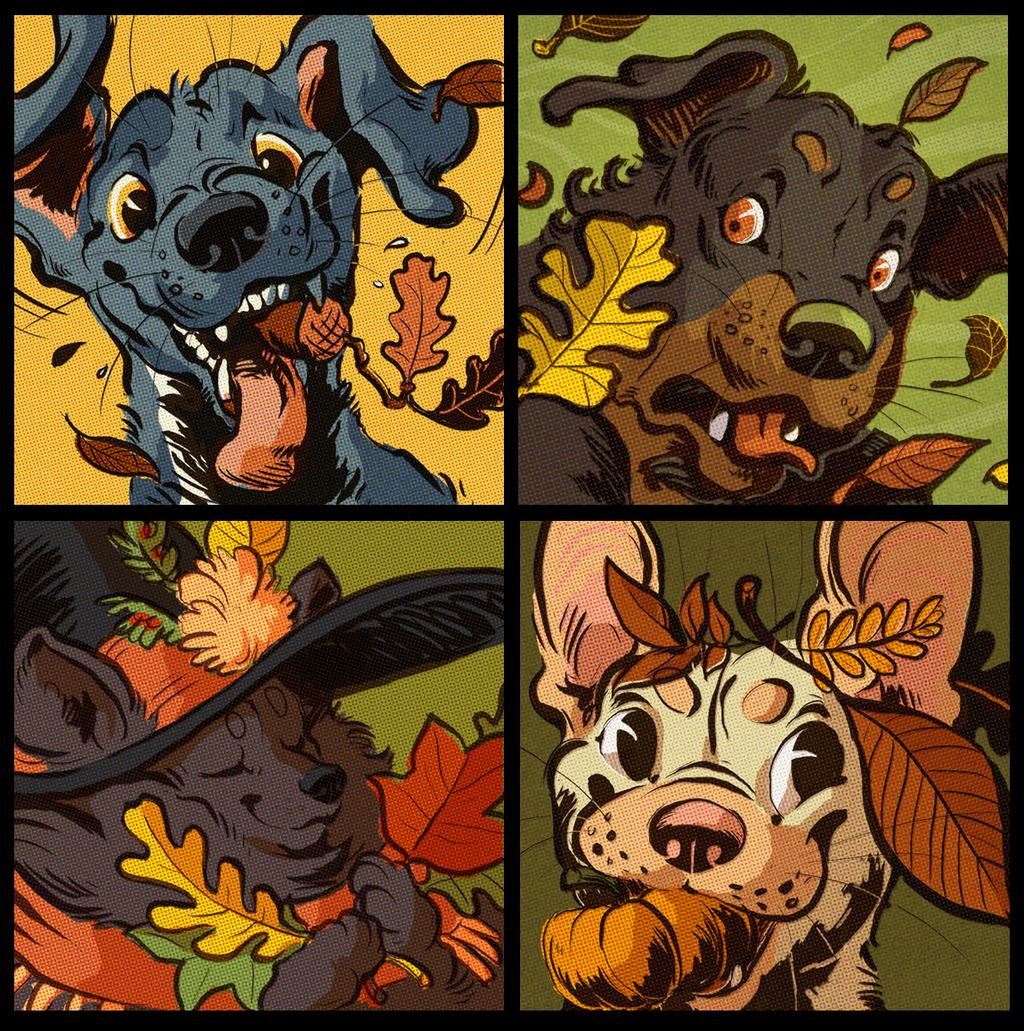 Comic Icons - Autumndogs