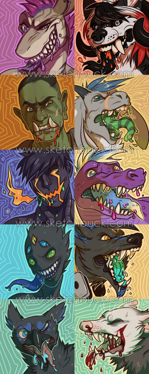 Freak out icons - Batch Complete V.2