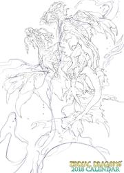 2018 Zodiac Dragons Celestial Pisces Dragons Line