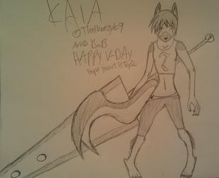 Warrior Kaia