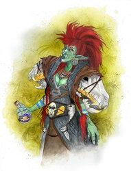 Khaoru the troll shaman