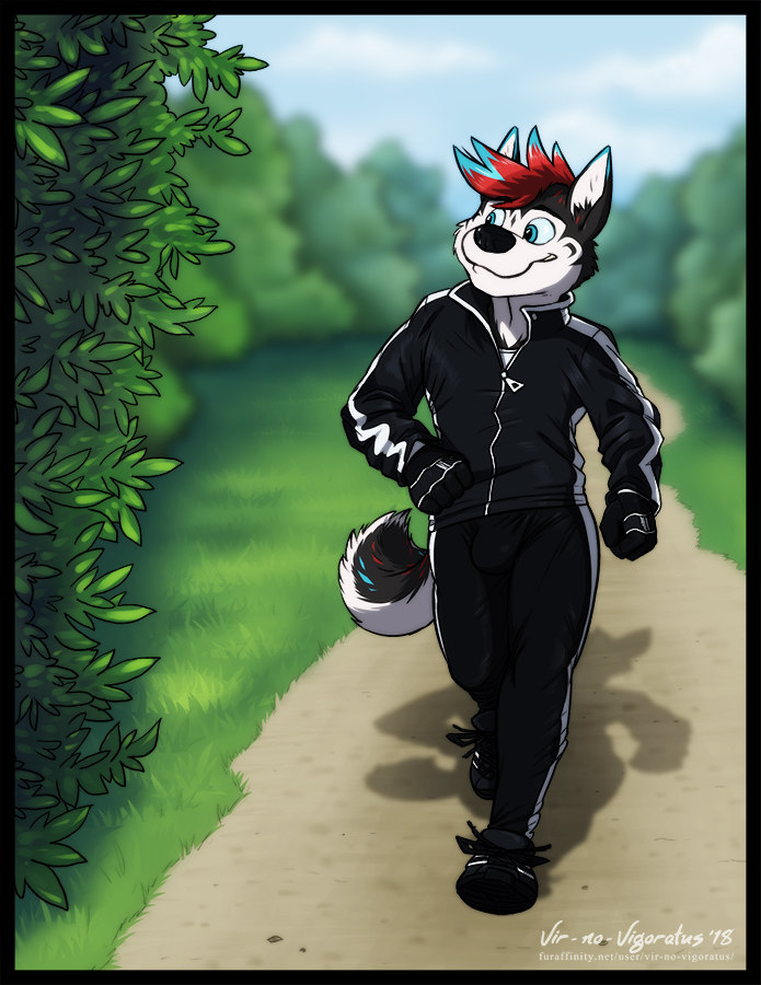 Commission: Out for a Jog