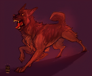 snarling dog, now theres something new