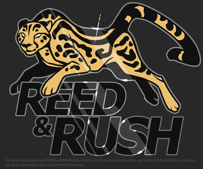 Reed and Rush Towing Logo