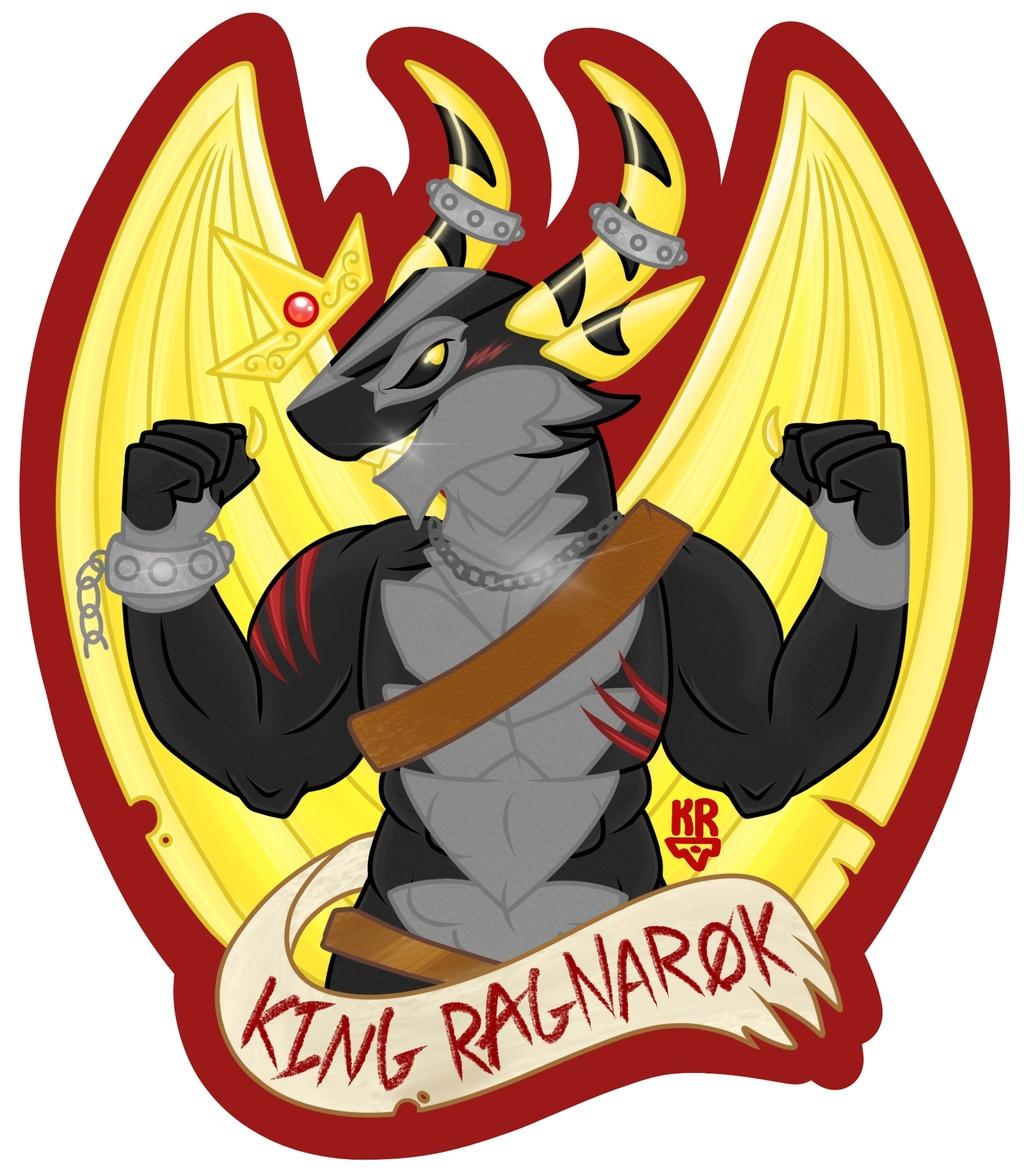 Ragnarok D&D BLFC2019 Badge