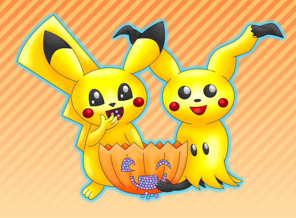 Pikachu Mimikyu Halloween