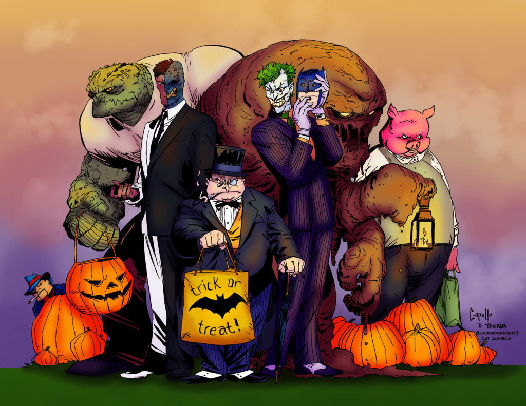 Rogues Gallery Trick or Treat