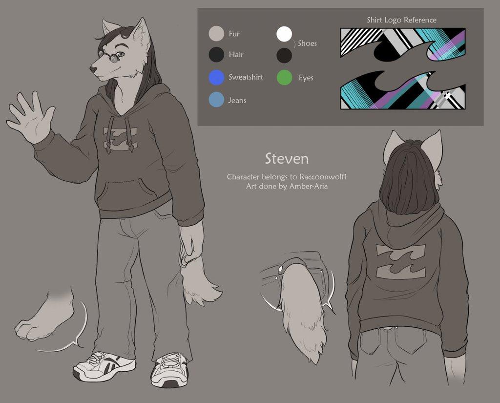 (SC!) 025 - RaccoonWolf1 - Steven Ref