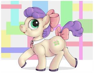Pony In Bows