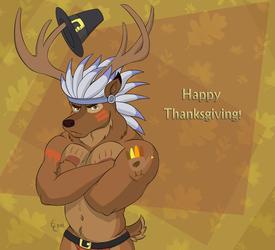 Happy Thanksgiving! (Holiday Buck)