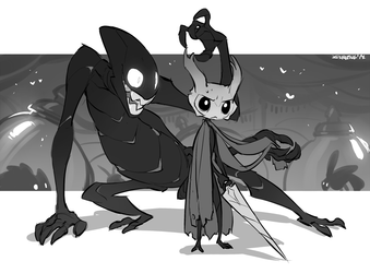 The Collector - Hollow Knight Fanart