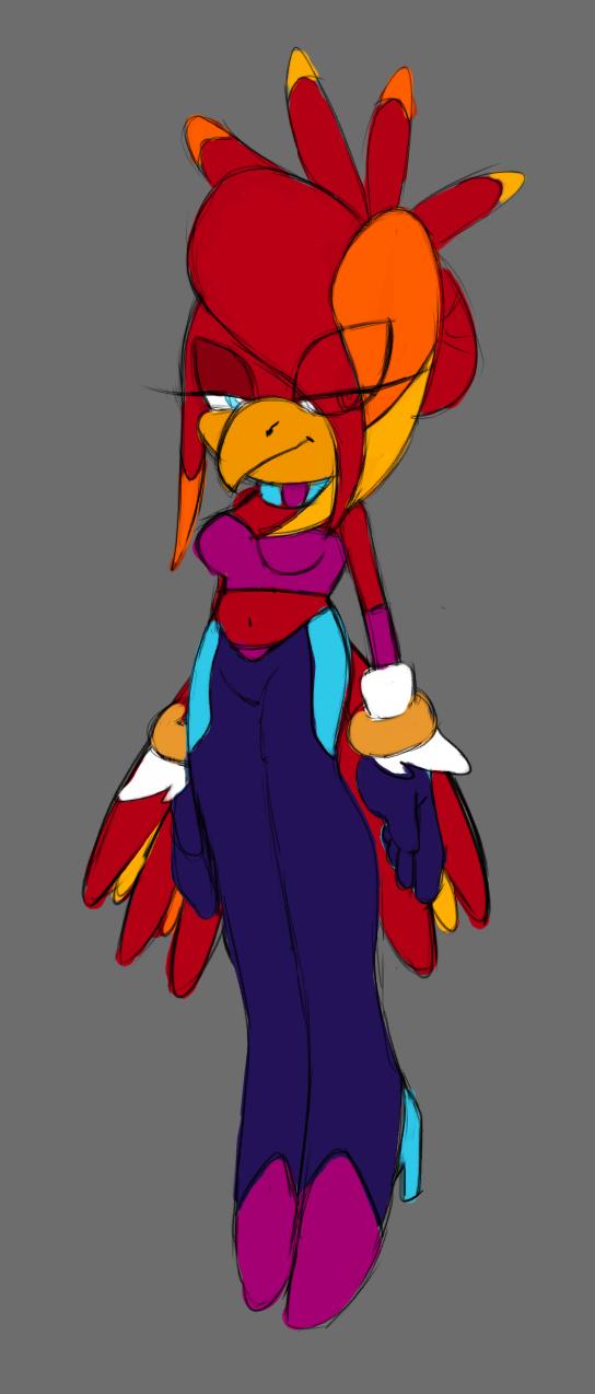 Kezia the Parrot