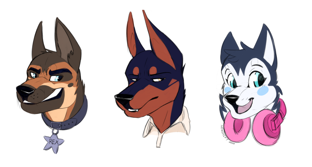 Most recent image: Just a bunch of furries