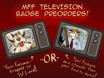 MFF TV Badge Preorders!