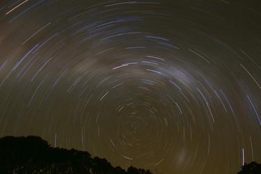 Star Trails - Charlotte Pass