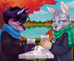 Warm Coffee (Completed YCH)